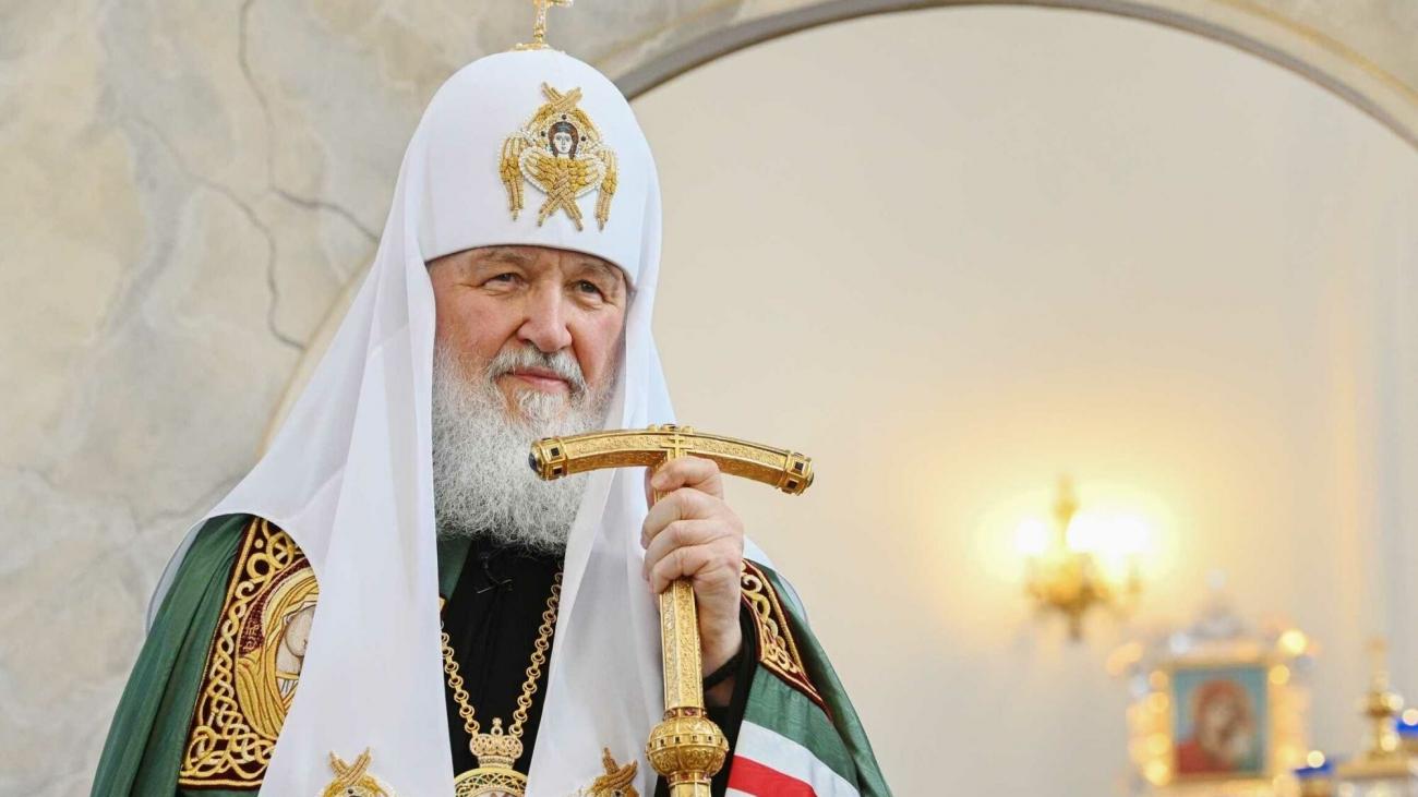 Патриарх Кирилл - Принесение мощей Александра Невского